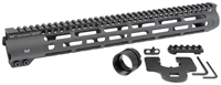 MI-SLH15 <br> MI Slim Line One Piece Free Float Handguard, M-LOK(TM) compatible