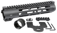 MI-SLH9.25 <br> MI Slim Line One Piece Free Float Handguard, M-LOK(TM) compatible