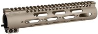 MI-SS10G3-FDE<br> MI G3 SS-Series One Piece Free Float Handguard - FDE