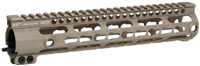 MI-SSK10G3-FDE <br>MI G3 SSK-Series One Piece Free Float Handguard, KeyMod compatible - Flat Dark Earth