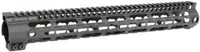MI-SSK15G3-BLK<br> MI G3 SSK-Series One Piece Free Float Handguard, KeyMod compatible - Black