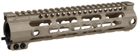 MI-SSK9G3-FDE<br> MI G3 SSK-Series One Piece Free Float Handguard, KeyMod compatible - Flat Dark Earth