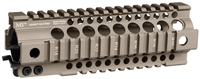 MI-T7G3-FDE <br> MI Gen3 T-Series One Piece Free Float Handguard Flat Dark Earth