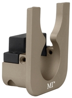 MI-TLM-FDE<br>MI Tavor Handguard Light Mount for 1.0 inch diameter lights - Flat Dark Earth