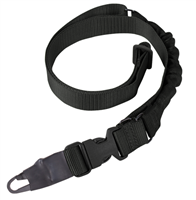 MIB1-BLK<br>Condor Single Bungee One Point Sling, Black