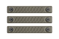 P-M-DR2.5-ODG-3<br>RailScales Dragon M-LOK(TM) HTP-2.5 Slot-3 Pack-OD Green