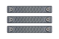 P-M-DR2.5-SGY-3<br>RailScales Dragon M-LOK(TM) HTP-2.5 Slot-3 Pack-Sniper Grey