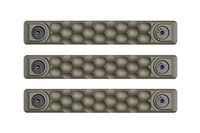 P-M-HC2.5-ODG-3<br>RailScales Honeycomb M-LOK(TM) HTP-2.5 Slot-3 Pack-OD Green