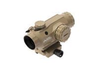 PAC1X-ACSS-CYCLOPS-FDE<br>Primary Arms 1X Compact Prism Scope - Illuminated ACSS Cyclops Reticle - Flat Dark Earth